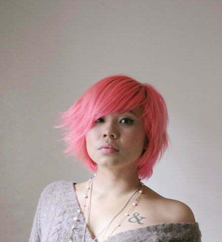 20 Color Ideas for Short Hair_5