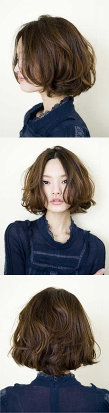 20 Haircuts for Short Wavy Hair_14