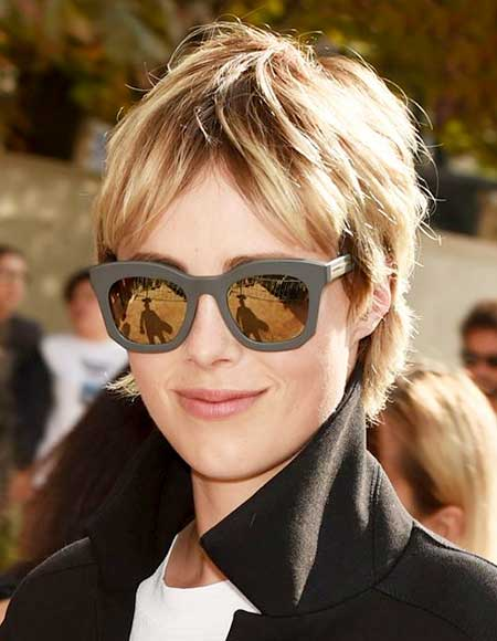 Short Bangs Hair Trend for Girls 2014