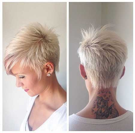 Fine Short Pixie Bob Haircuts Best Hairstyles 2017 Hairstyle Inspiration Daily Dogsangcom