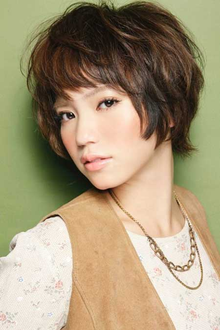 20 Pretty Short Asian Hairstyles