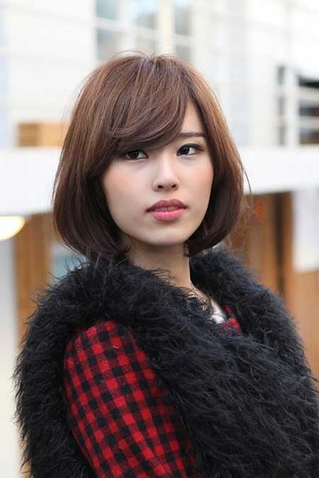 Admirable 20 Pretty Short Asian Hairstyles Short Hairstyles 2016 2017 Hairstyles For Women Draintrainus
