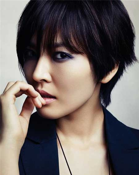 20 Pretty Short Asian Hairstyles_6