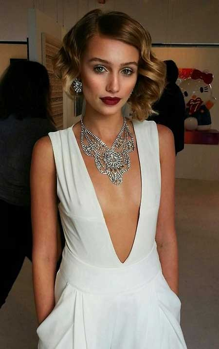 20 Short Hairstyles for Brides_10
