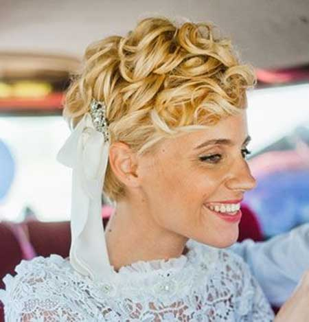 20 Short Hairstyles for Brides_11