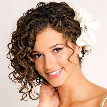 20 Short Hairstyles for Brides_14