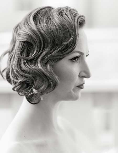 20 Short Hairstyles for Brides_3