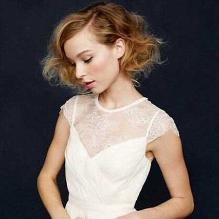 20 Short Hairstyles for Brides_8