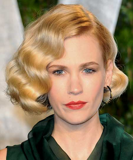 20 Wavy Hairstyles for Short Hair_12