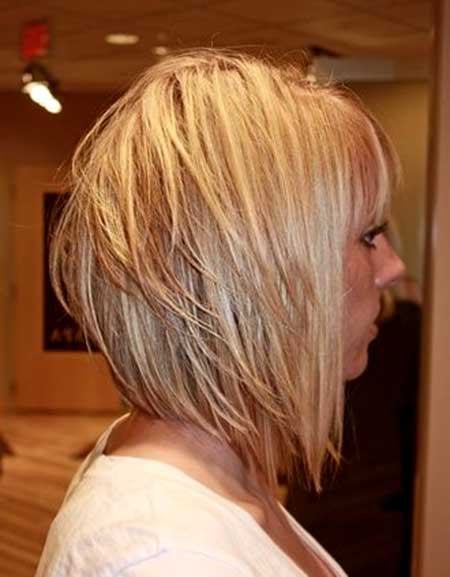 Multiple Layer Blonde Bob