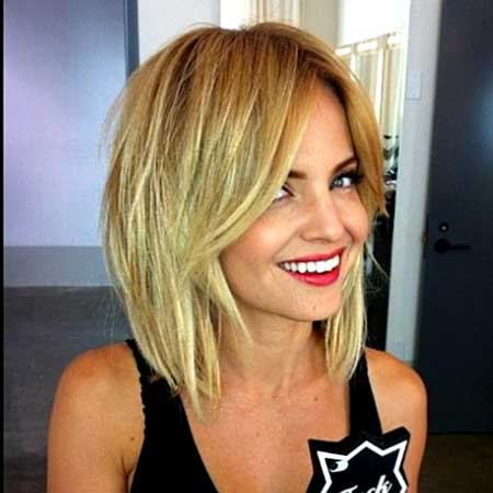 Blonde Straight Fantastic Bob