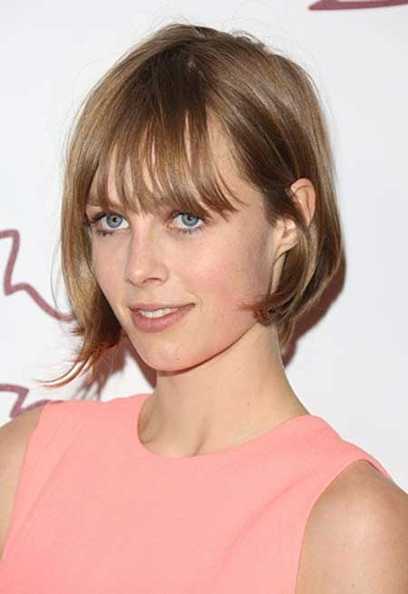 25 Celebrity Short Hai...Short Bob Haircuts With Bangs 2014