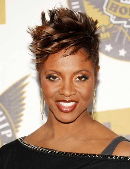 Tremendous 25 Pictures Of Short Hairstyles For Black Women Short Hairstyles Hairstyles For Women Draintrainus