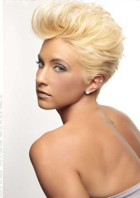 25 Short Blonde Hair 2014_10
