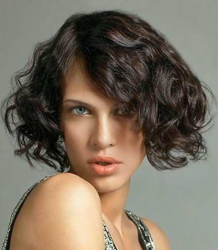 25 Short Curly Hairstyles 2014