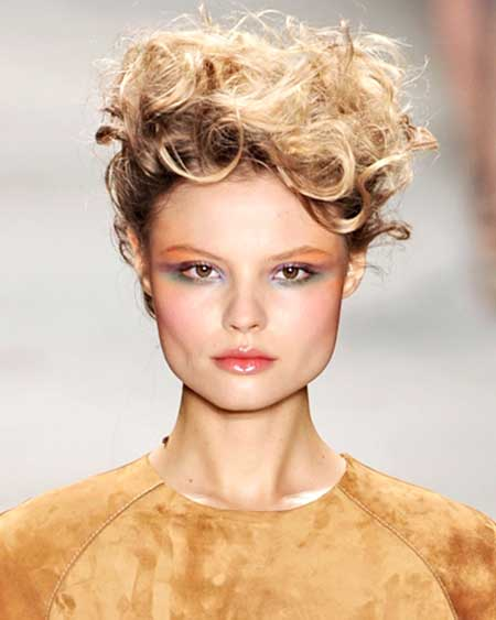 25 Short Curly Hairstyles 2014_2