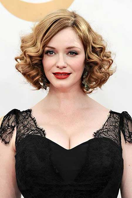 25 Short Curly Hairstyles 2014_6