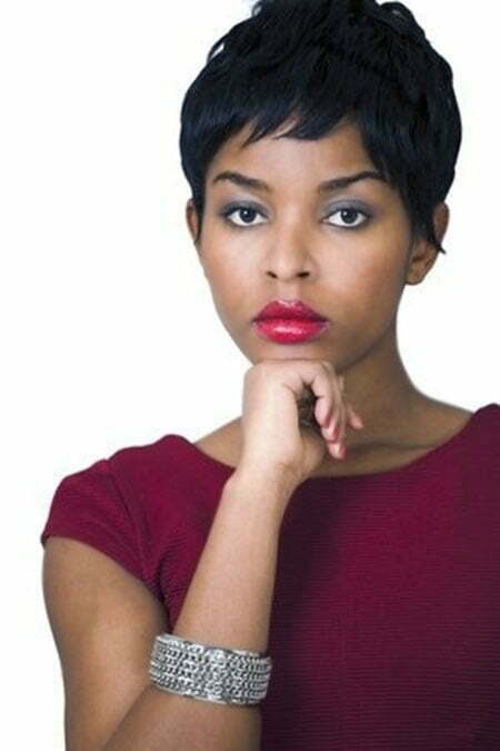 25 Short Cuts For Black Women