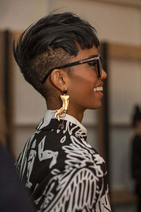 short haircuts for black ladies 25 hairstyles for black 3527 | 25 Short Hairstyles for Black Women 9