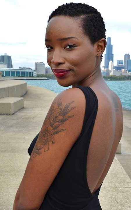 25 Super Short Haircuts for Black Women_11