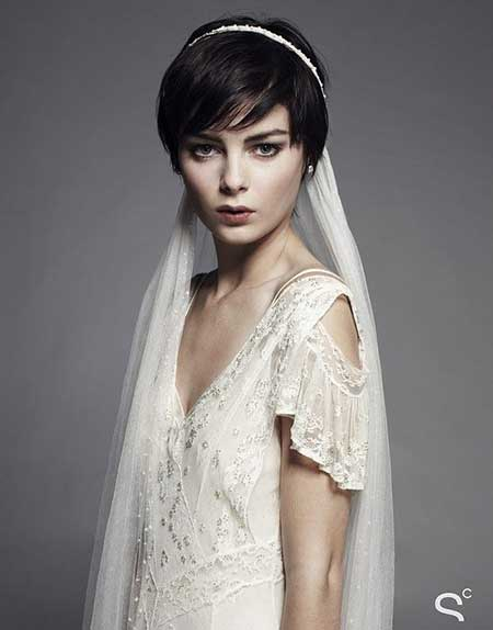 25 Wedding Hairstyles for Short Hair_11