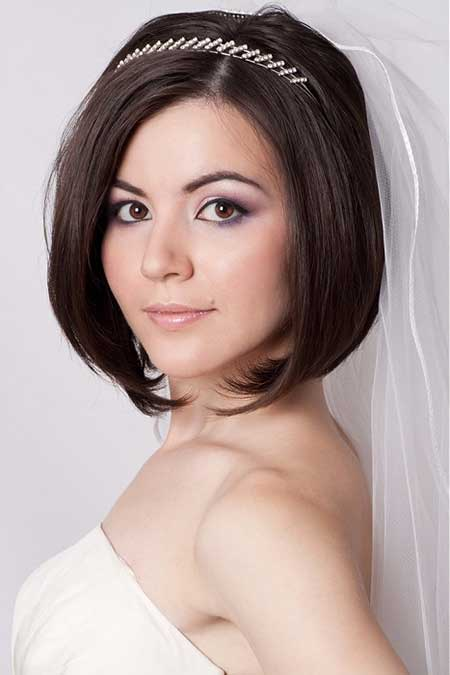 Tremendous 25 Wedding Hairstyles For Short Hair Short Hairstyles 2016 Short Hairstyles Gunalazisus