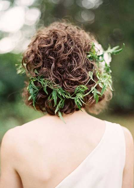 25 Wedding Hairstyles for Short Hair_14