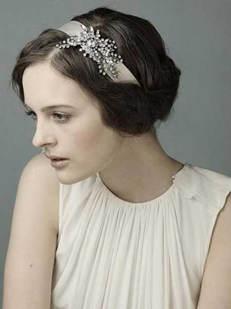 25 Wedding Hairstyles for Short Hair_16