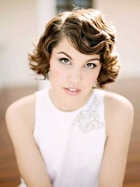 25 Wedding Hairstyles for Short Hair_17