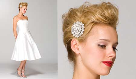 25 Wedding Hairstyles for Short Hair_19