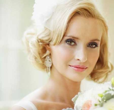 25 Wedding Hairstyles for Short Hair_20