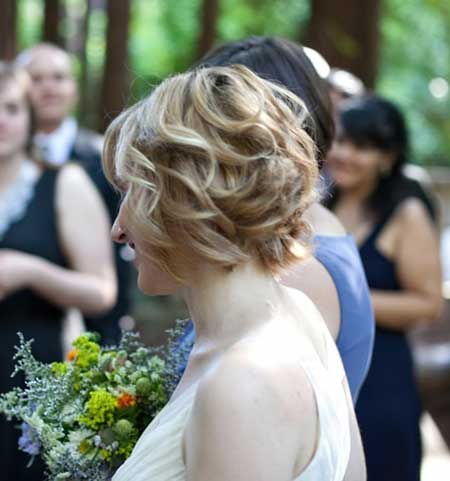 25 Wedding Hairstyles for Short Hair_7