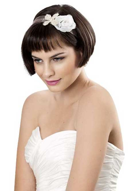 25 Wedding Hairstyles for Short Hair_9