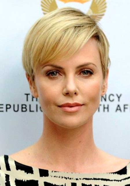 Cute Blonde Pixie Hair