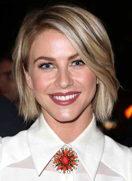 Short Blonde Cute Bob