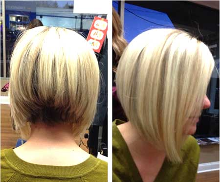 Blonde Gorgeous Layered Bob