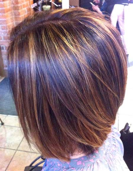 Neat Straight Soft Bob
