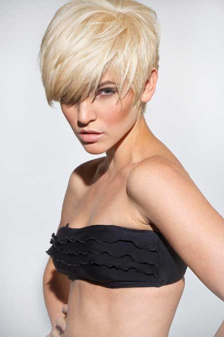 Stupendous 30 Short Blonde Haircuts For 2014 Short Hairstyles 2016 2017 Short Hairstyles Gunalazisus