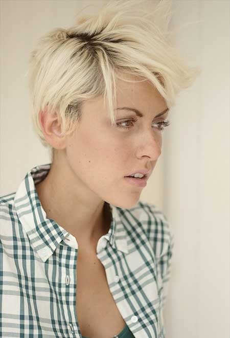 30 Short Blonde Haircuts For 2014