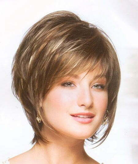 Very Alluring And Attractive Bob Hair With Awesome Fine Bangs Cool Lovely Layers
