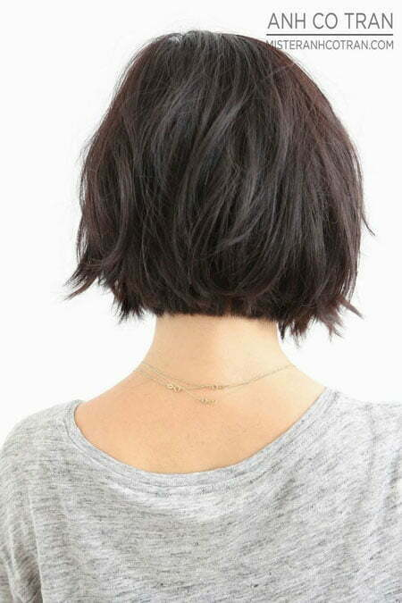 35 best bob hairstyles short hairstyles 2016 2017 most nice messy back view of a lovely bob hair urmus Images