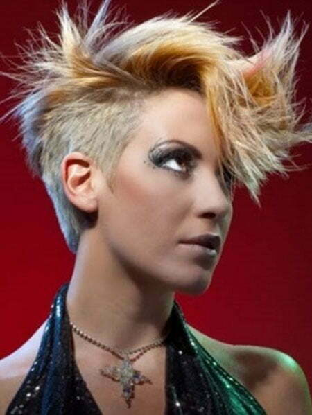 Amazing Spiky Hairstyle with Awesome Bangs