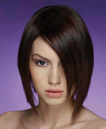 Outstanding 15 Best Asymmetrical Bob Hairstyles Short Hairstyles 2016 2017 Hairstyle Inspiration Daily Dogsangcom