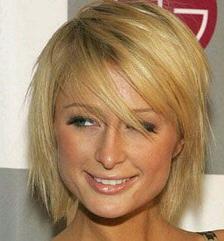Attractive Short Straight Hair