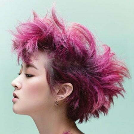 Best Color for Short Hair_14