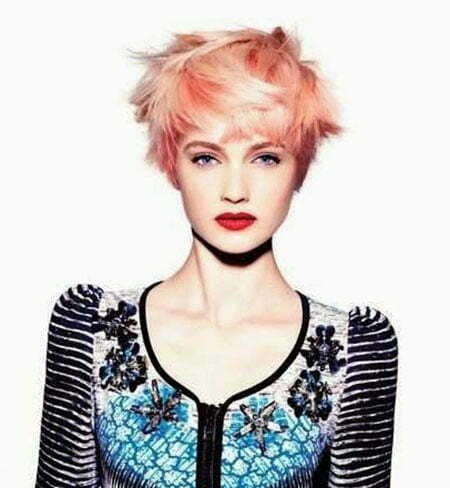 Best Color for Short Hair_17