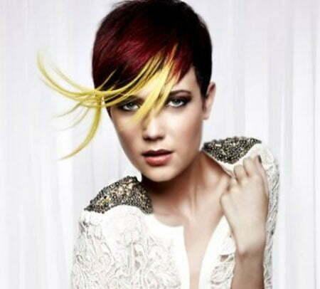 Best Color for Short Hair_18