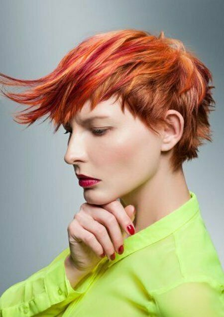 Best Color for Short Hair_5