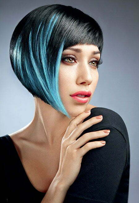 Best Color for Short Hair_8