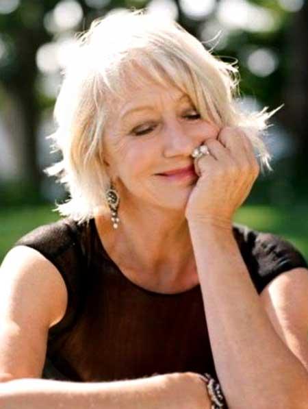 Best Short Haircuts For Older Women 2014 2015